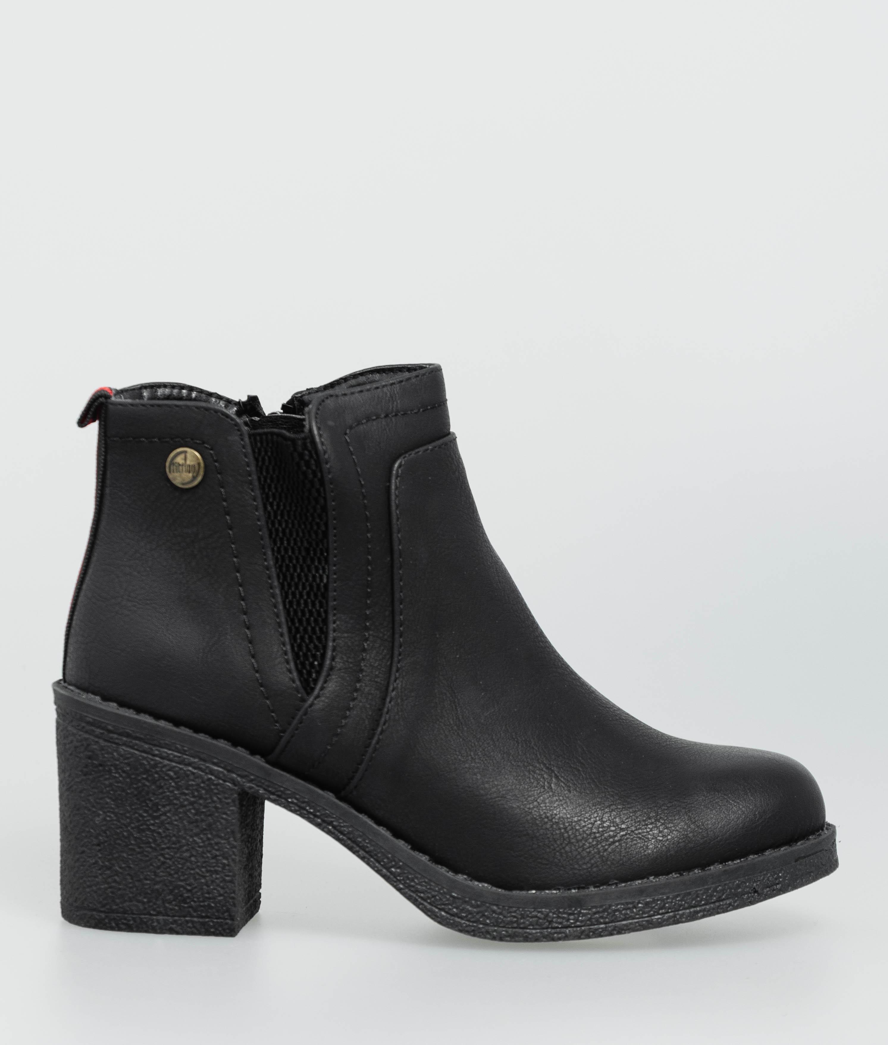 Bota Baja Mikany - Negro