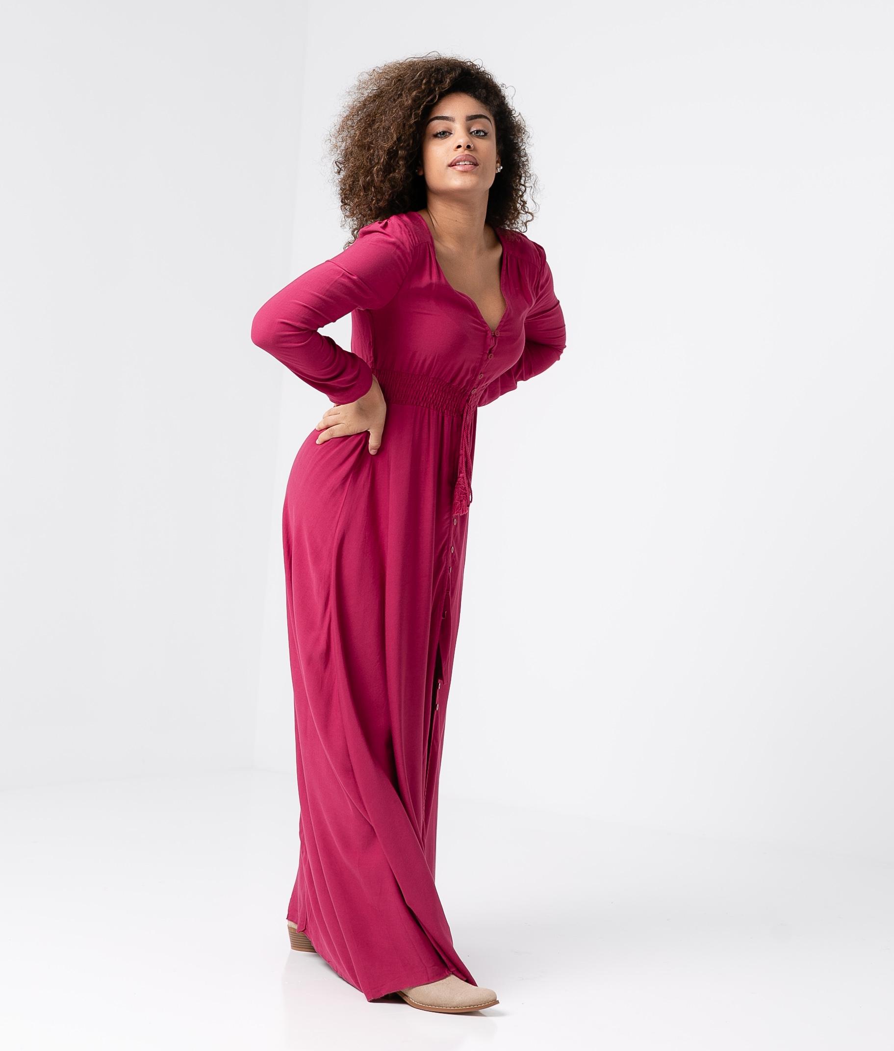 Vestido Kaydy - Buganvilla