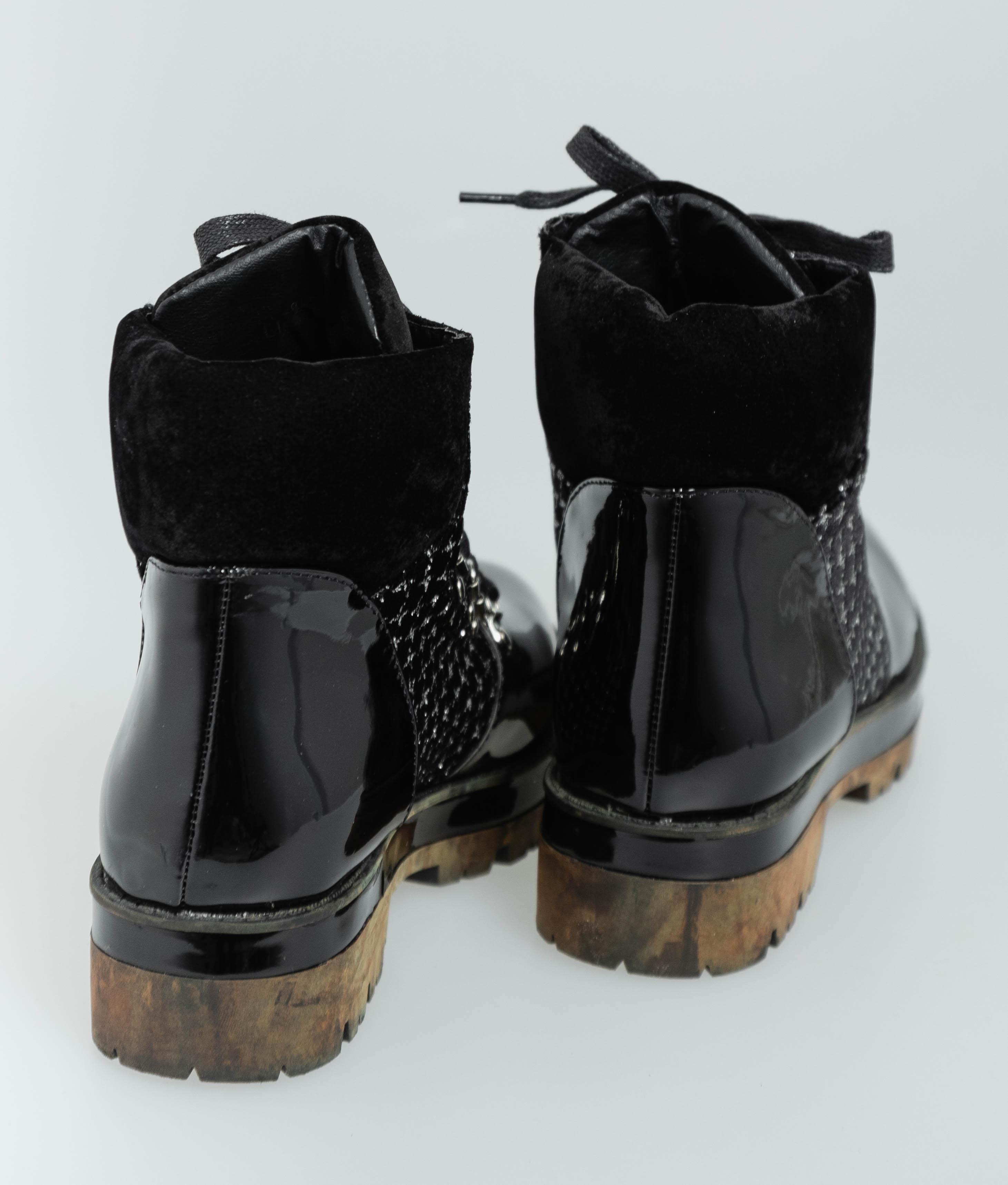 Bota Baja Campy - Negro