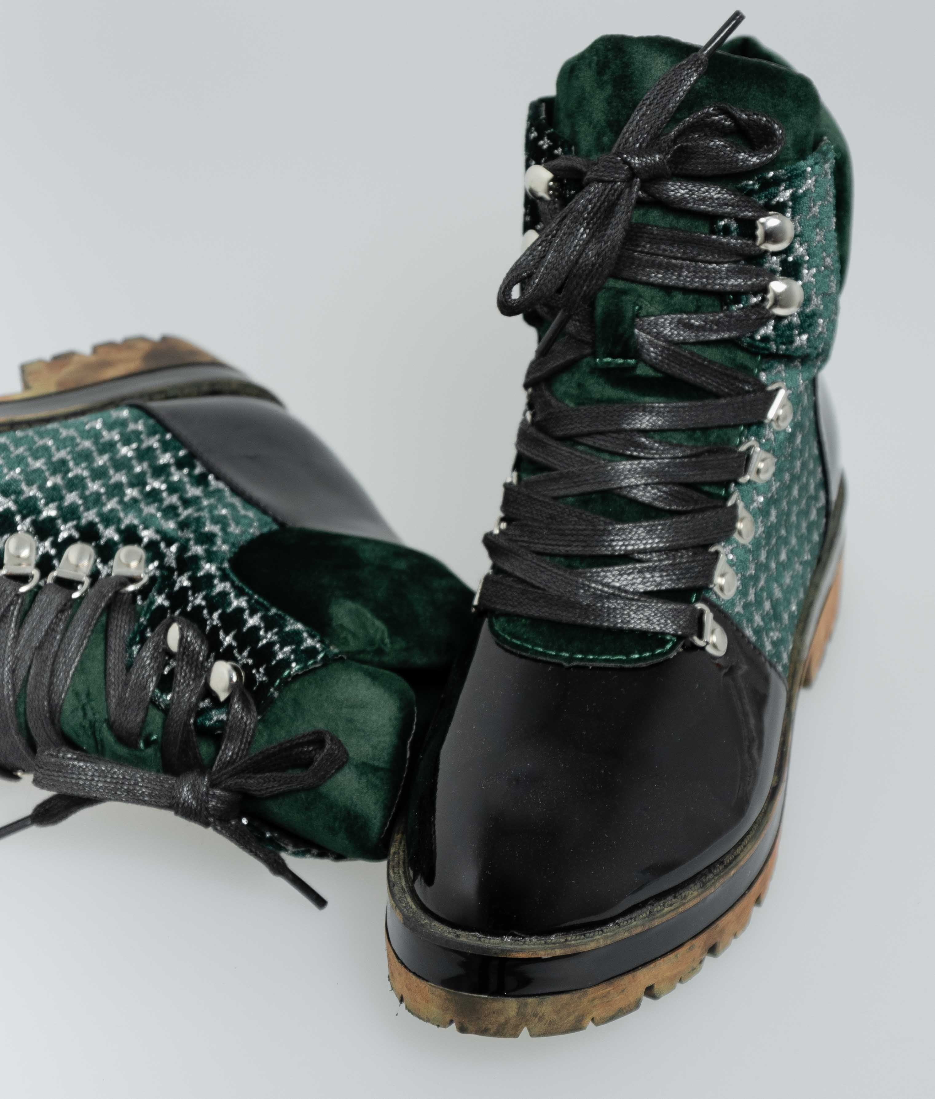 Low Boot Campy - Green