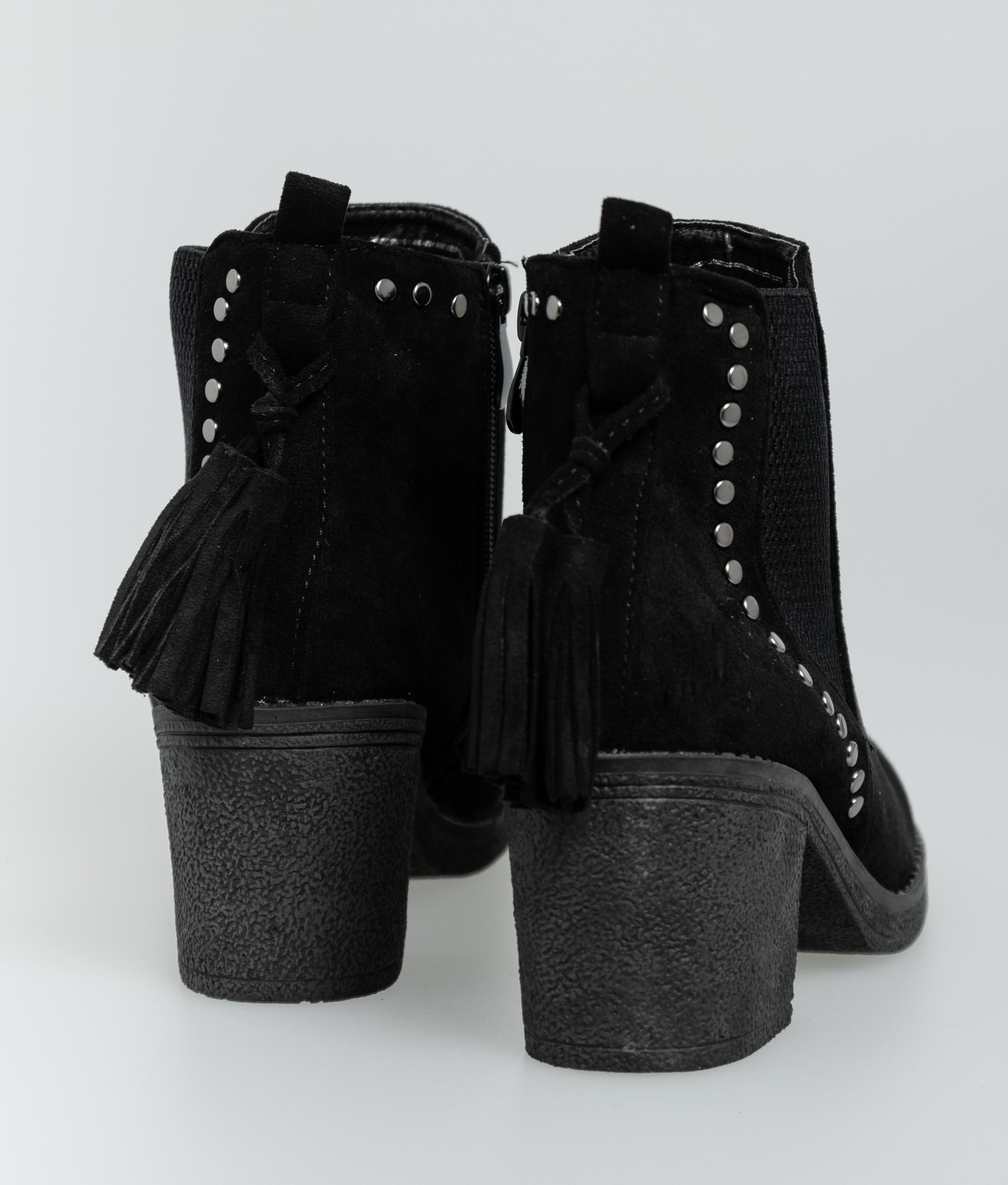 Low Boot Paila - Black