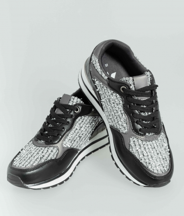 Sneakers Glam - Nero