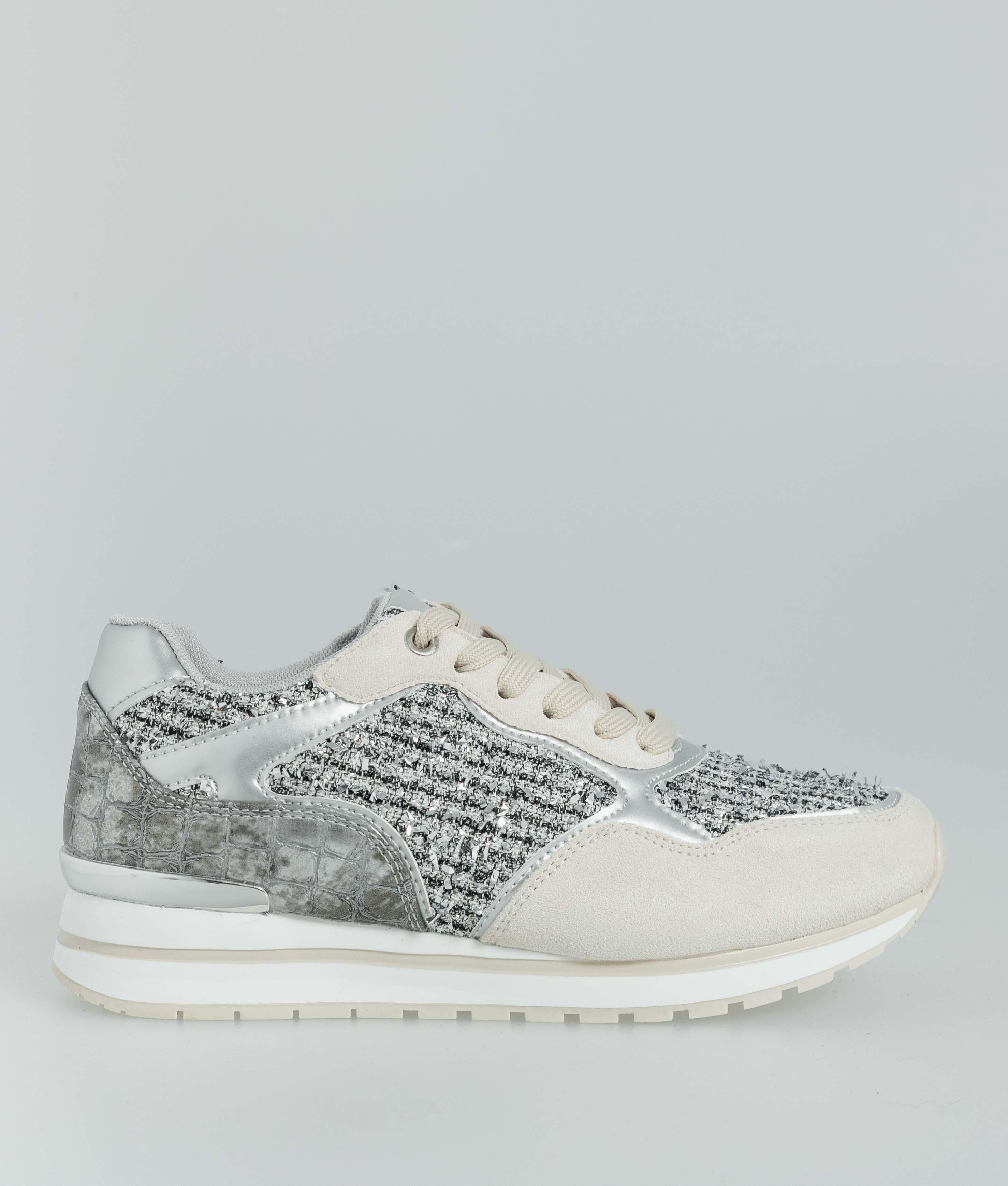 Sneakers Glam - Beige