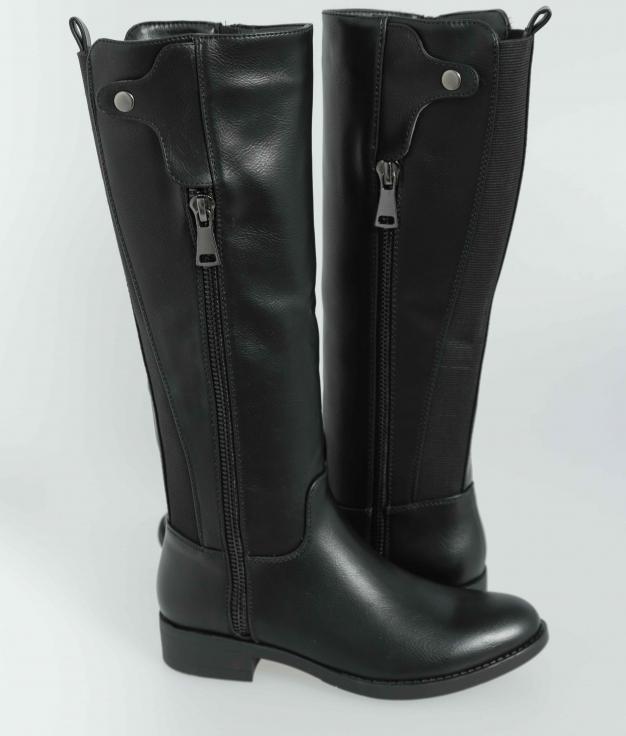 Knee-Length Boot Dover - Black