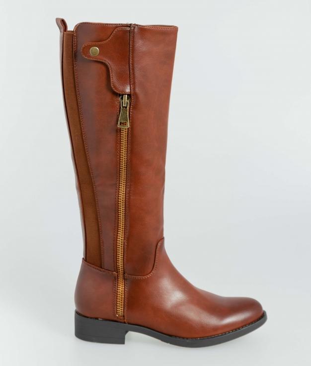 Knee-Length Boot Dover - Camel