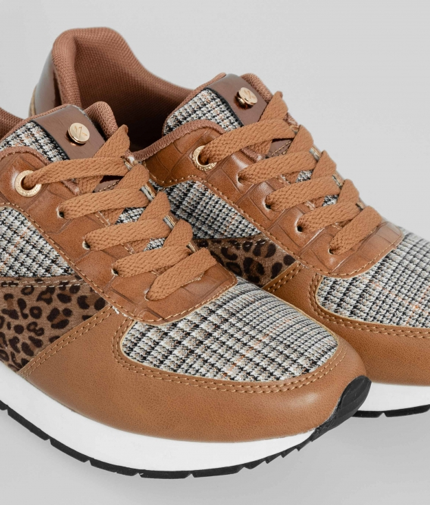 Sneakers Amberly - Camel