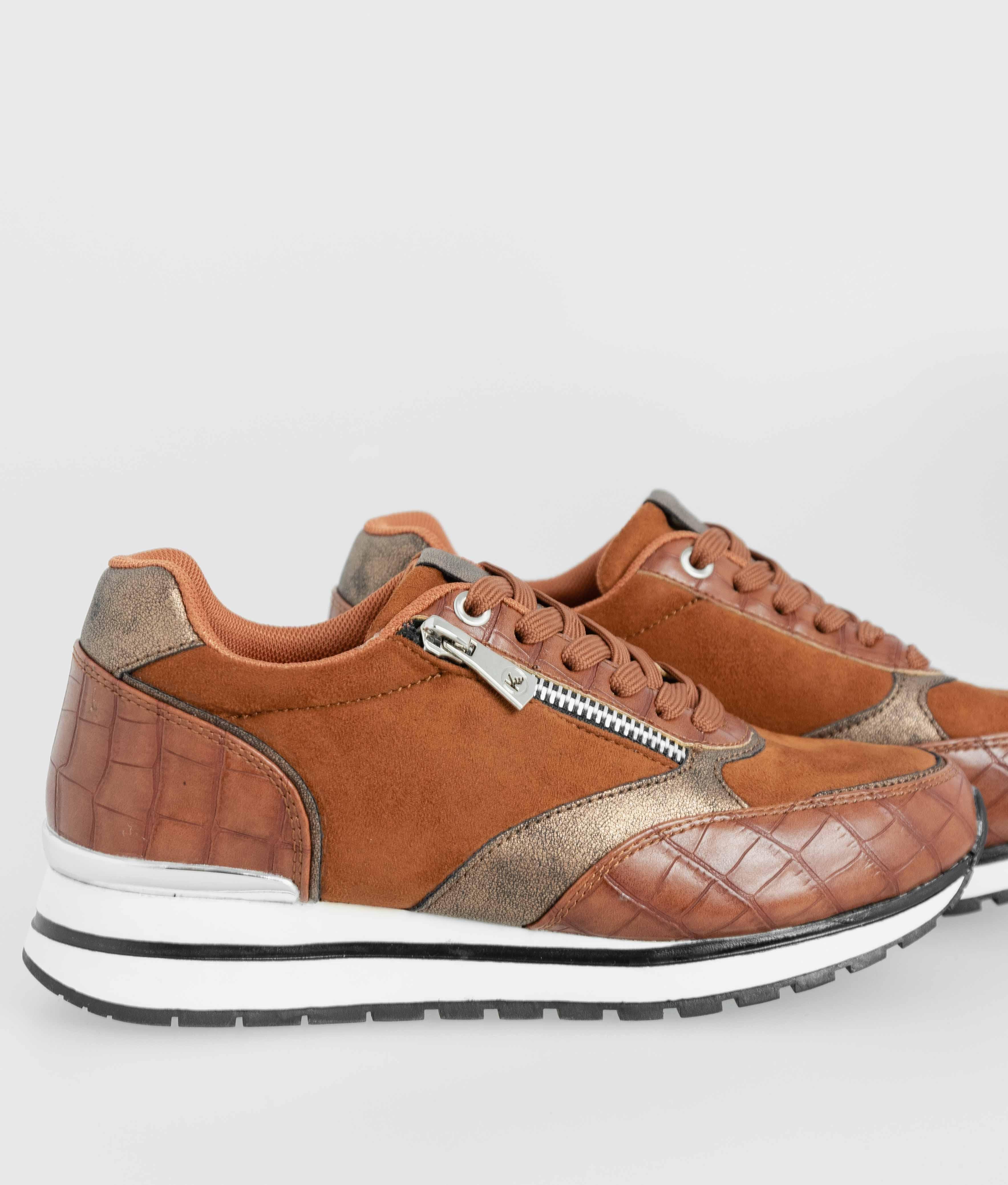 Sneakers Amel - Chameau