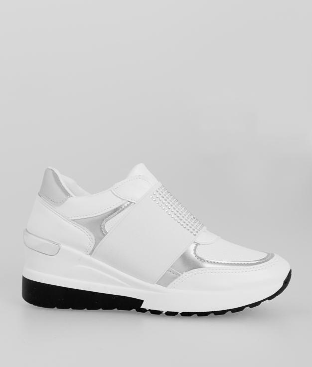 Sneakers Printa - Bianco
