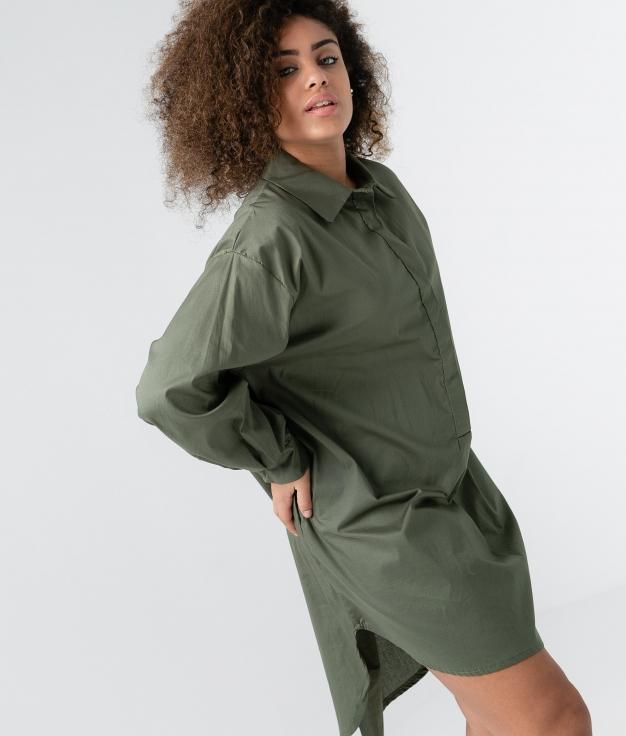 MELIA DRESS - KAKI