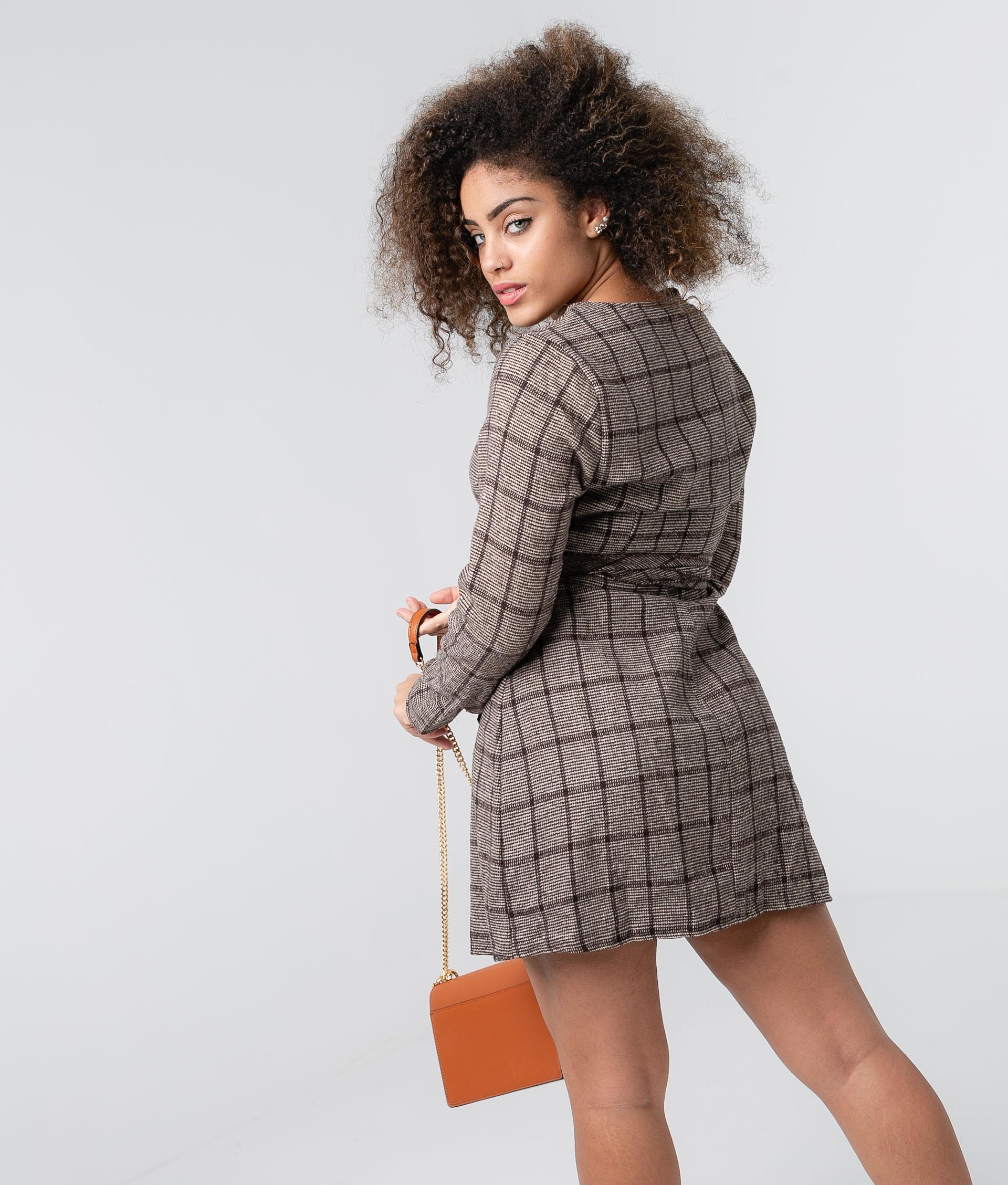 Dress Retal - Brown
