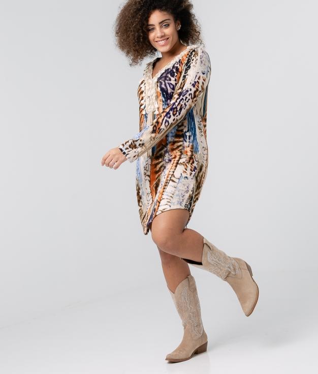 Dress Ellano - Multicolor