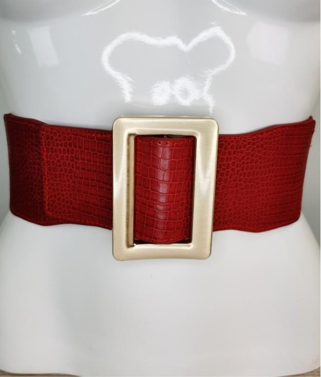 Cinturón elastico Zila - vermelho