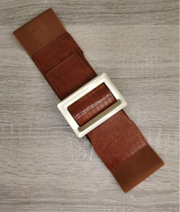 Cinturón elastico Zila - brown