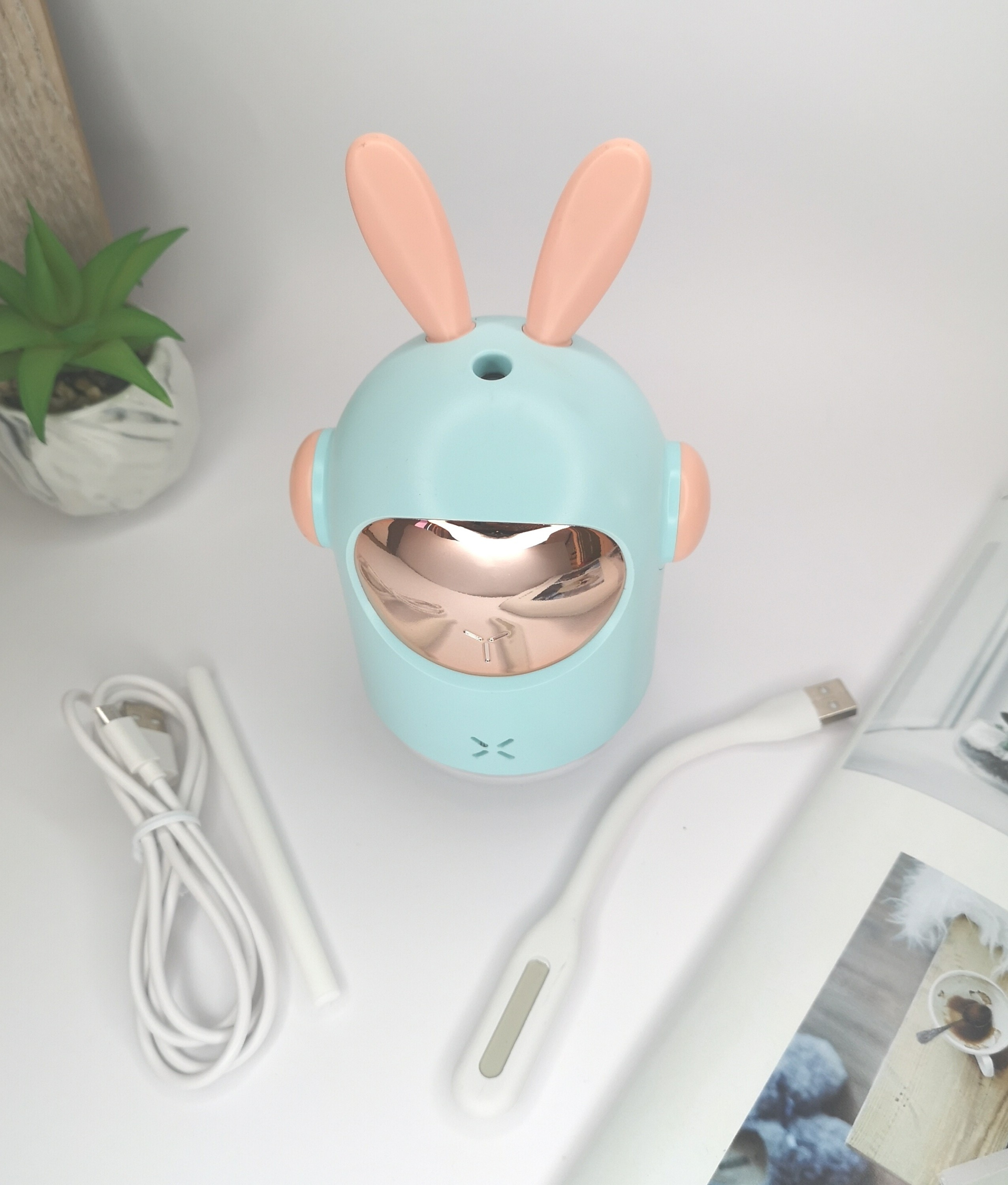 Humificador space rabbit - blue