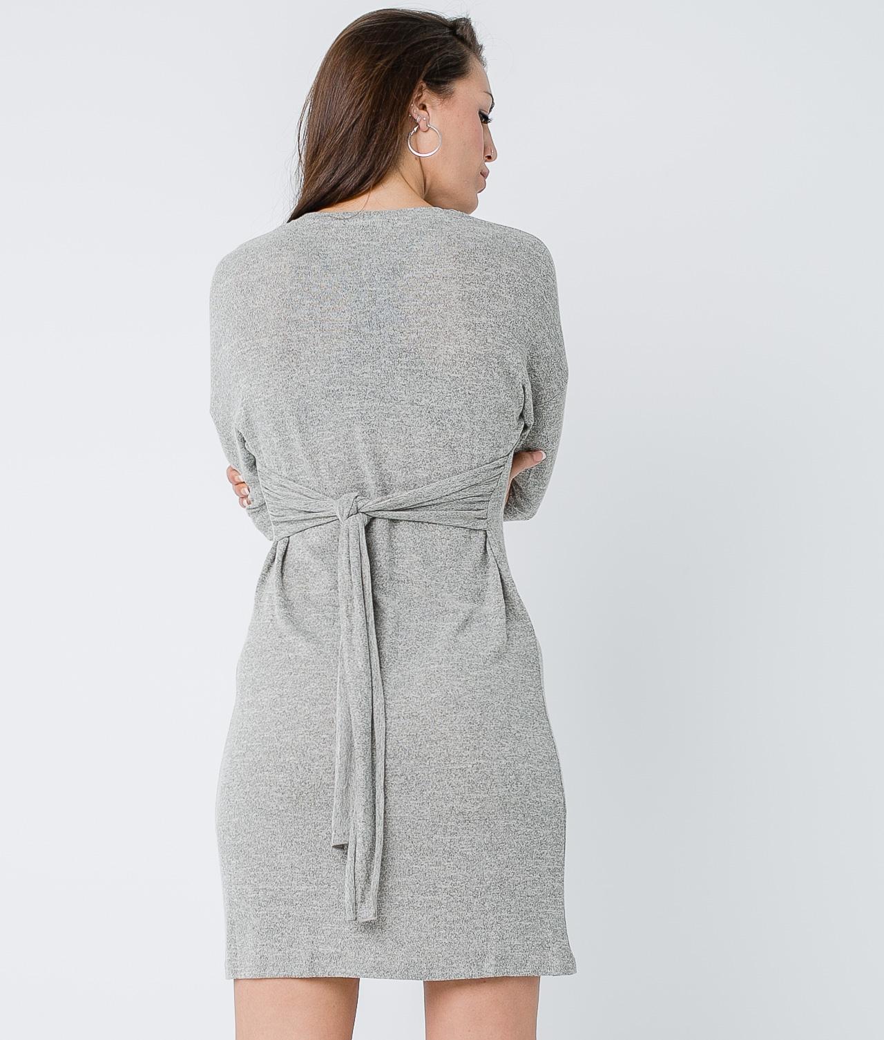 Vestido Virgo - Marrón
