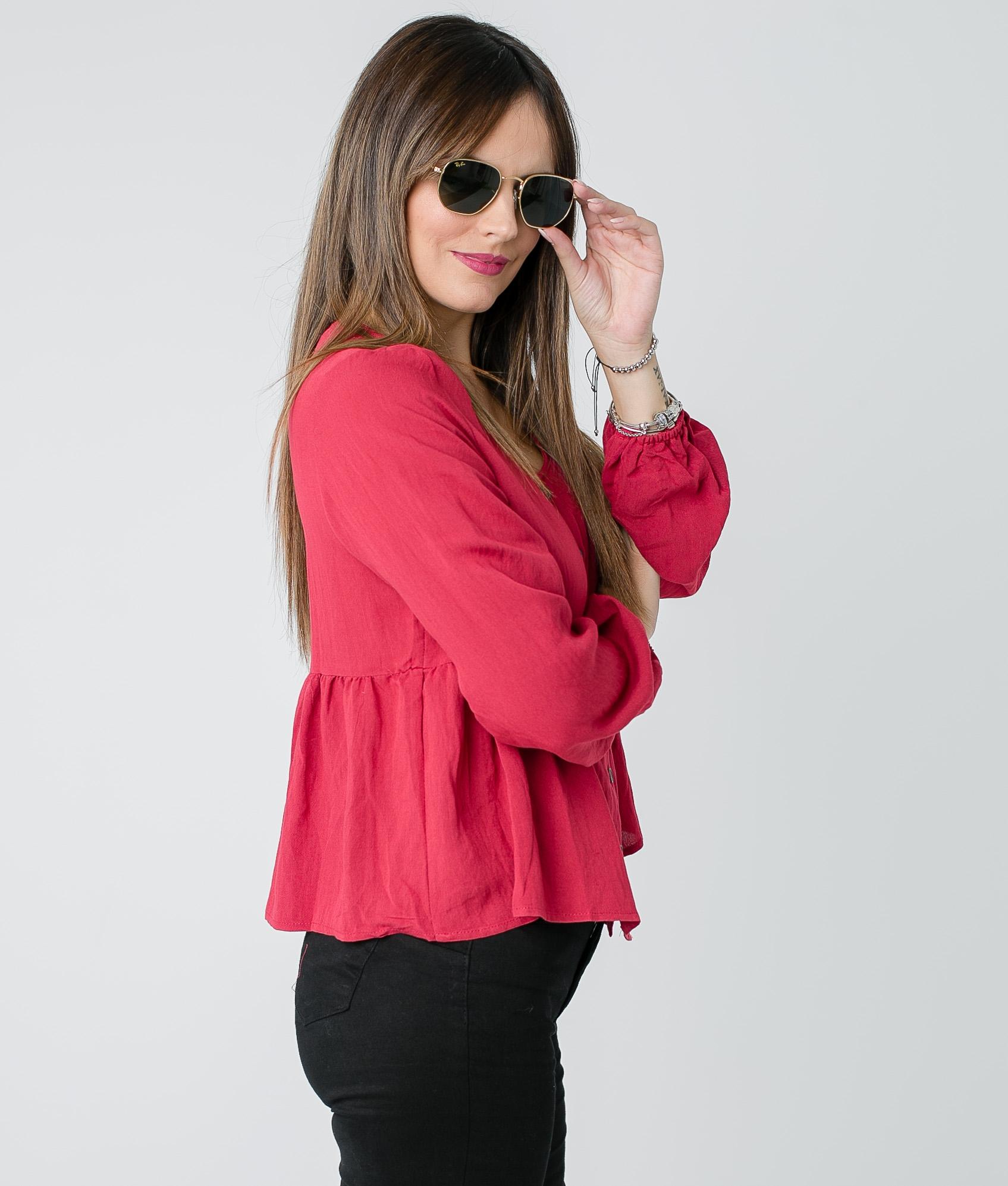 Blusa Lexa - Grená