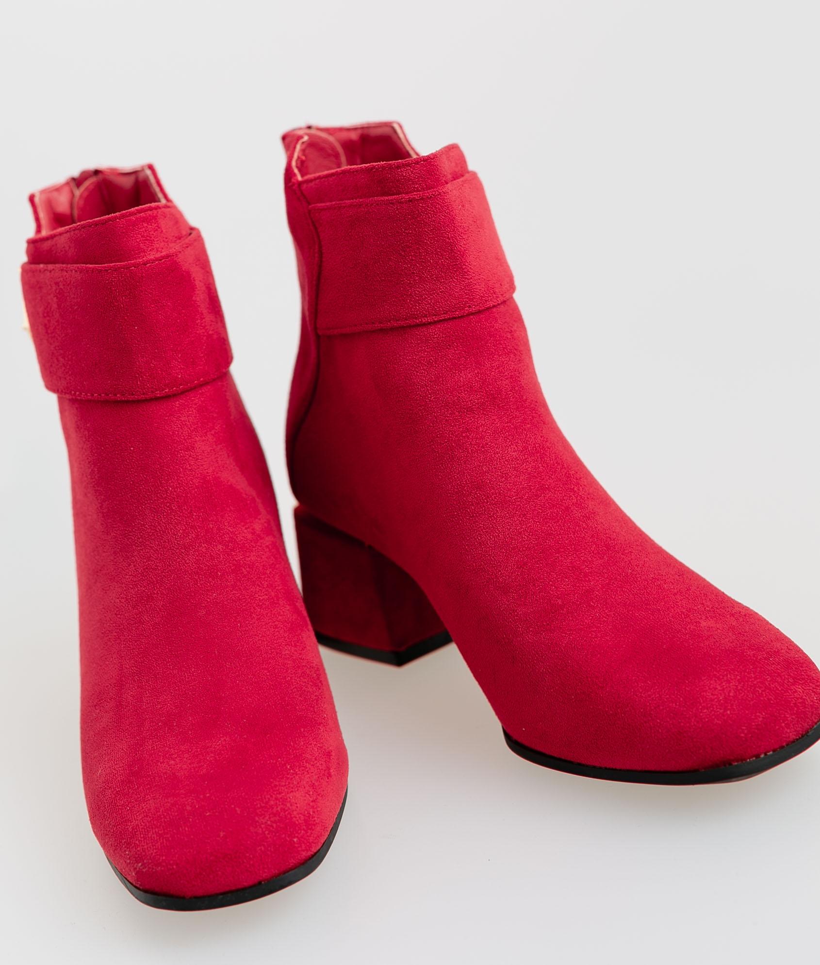 Bota Baja Morgan - Rojo