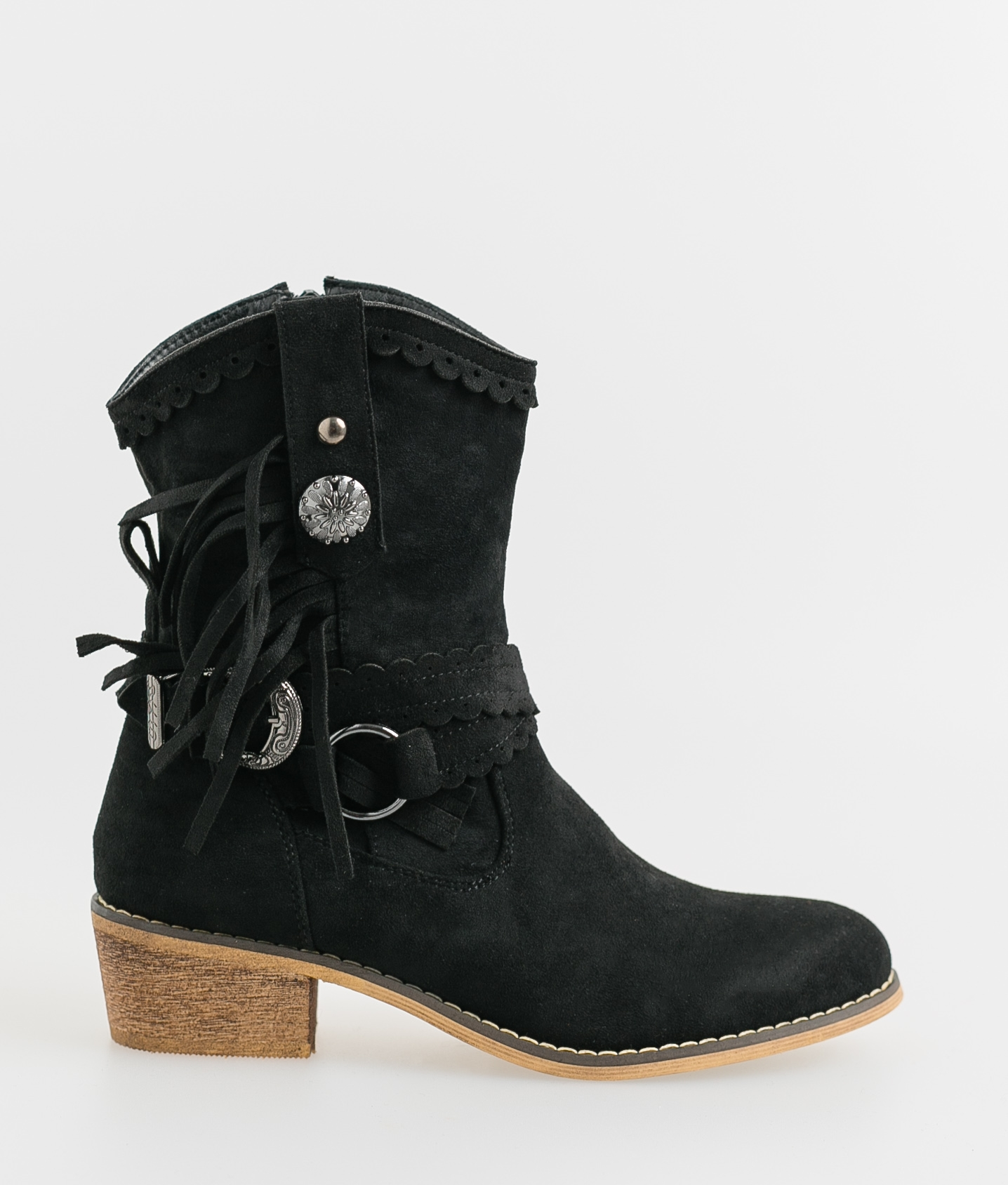 Low Boot Luan - Black