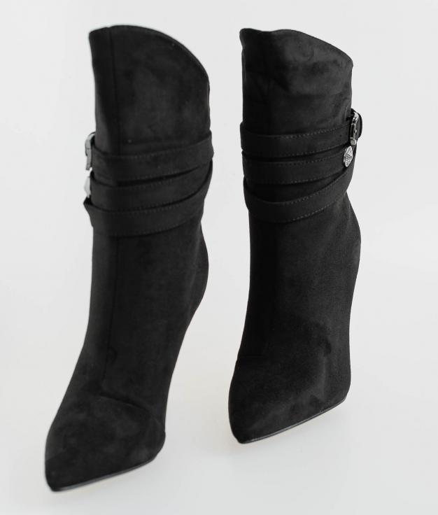Bota Baja Clovely - Negro