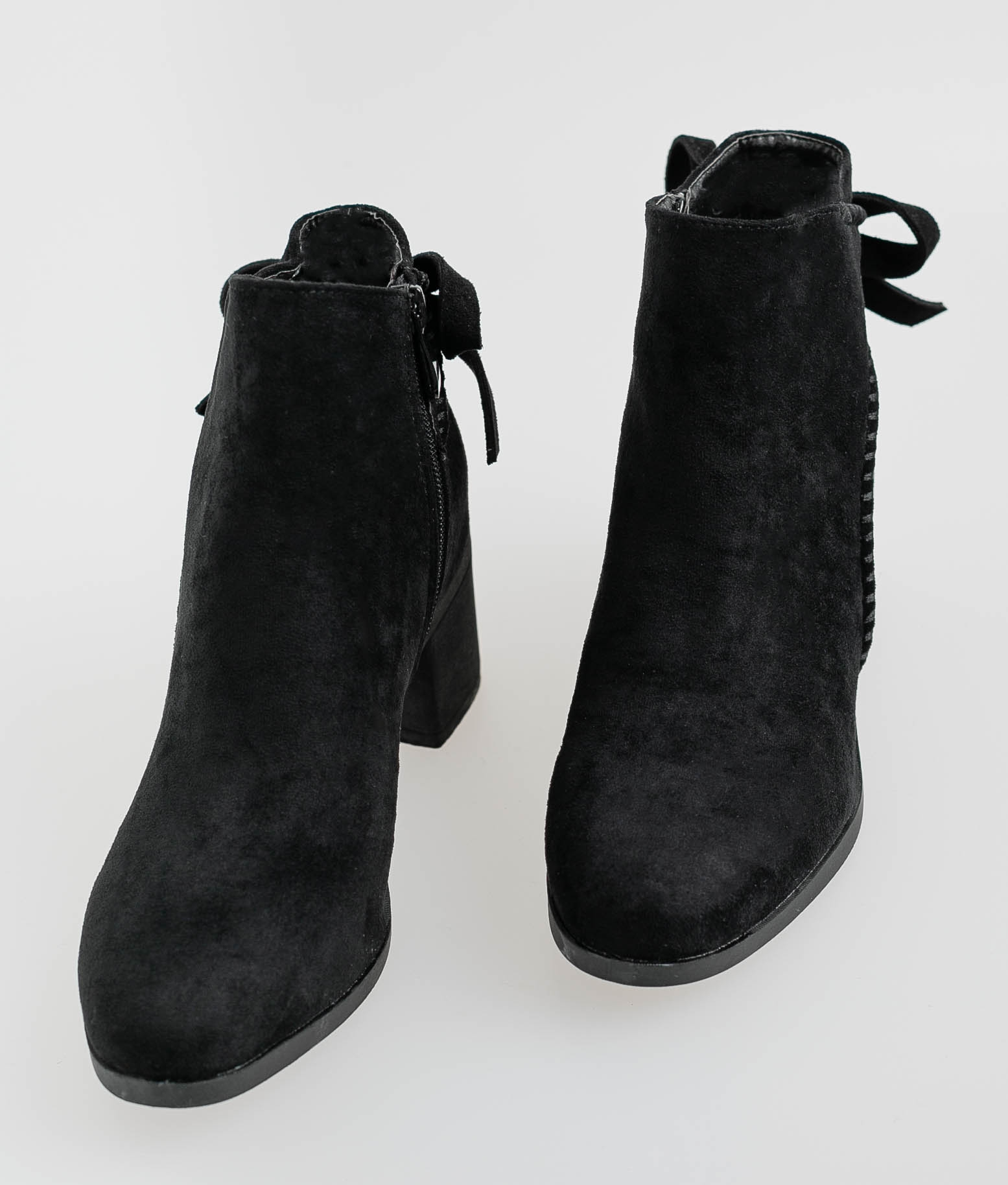 Low Boot Lazas - Black