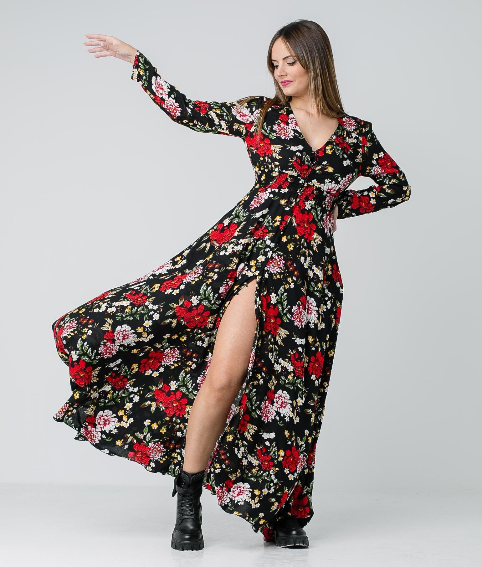 Vestido Birma - Negro