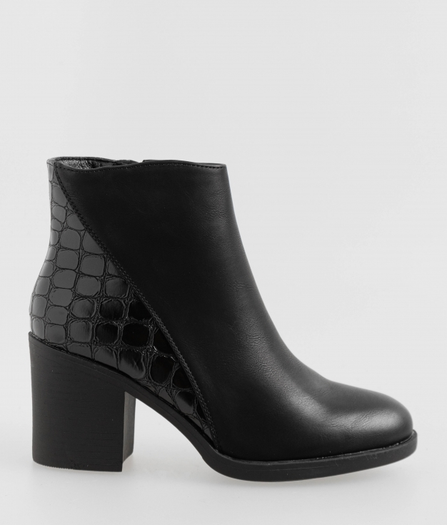 Low Boot Camile - Black
