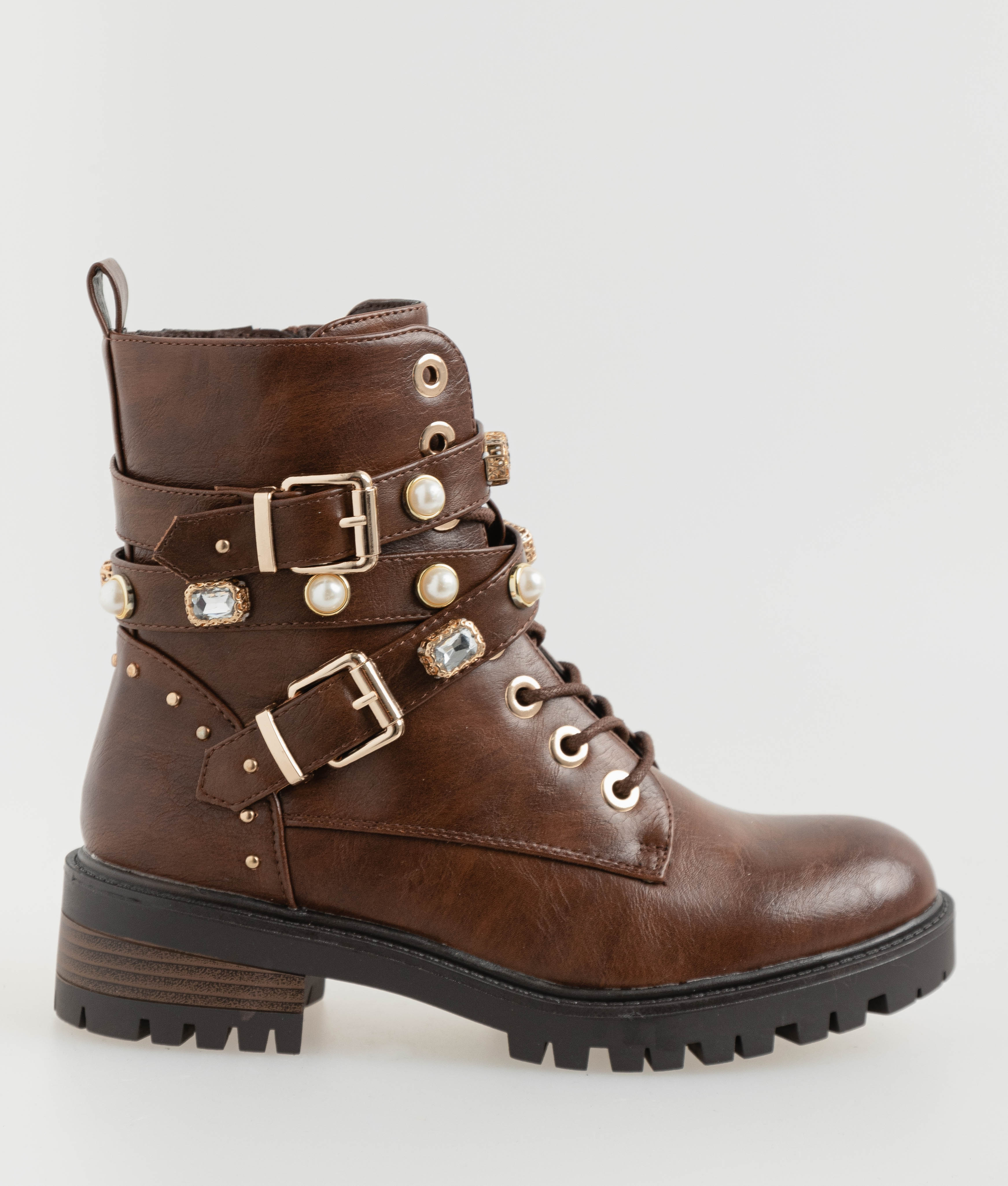 Low Boot Tiny - Brown