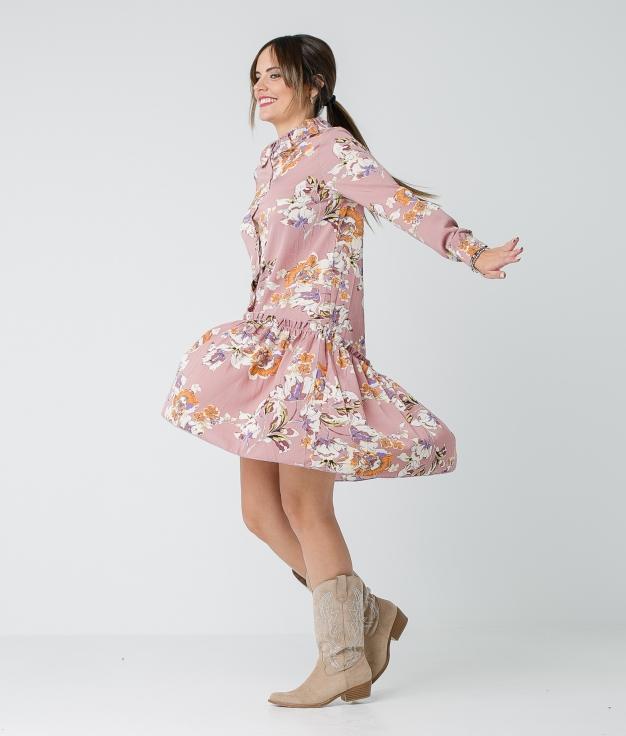 VESTIDO TULIPA - ROSE