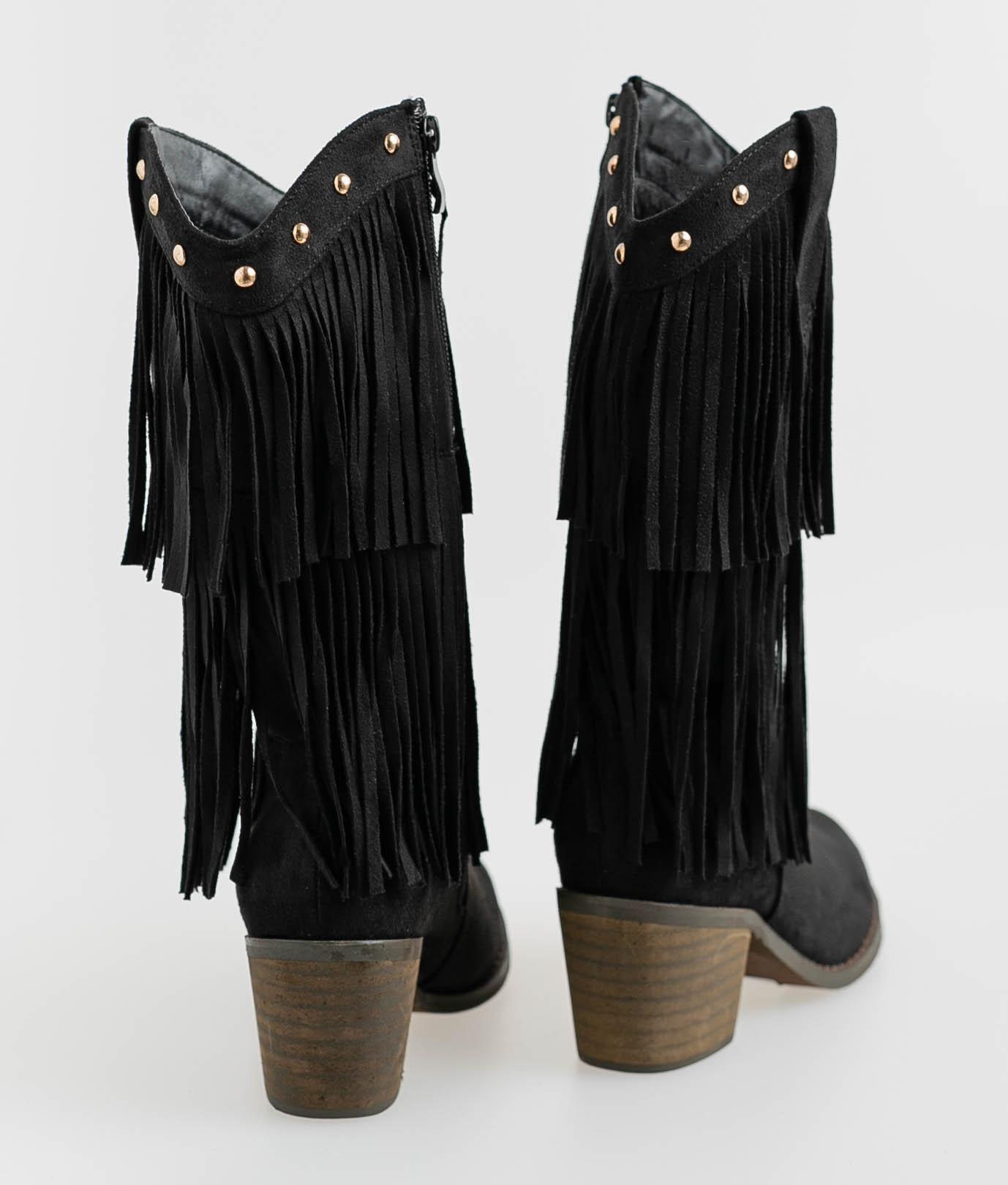 Low Boot Cadira - Black