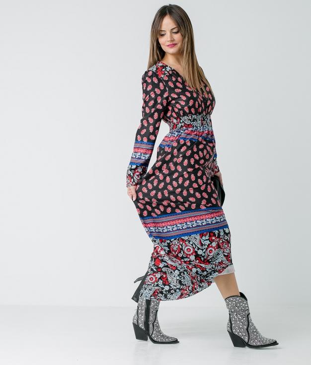 Vestido Sicom - Preto