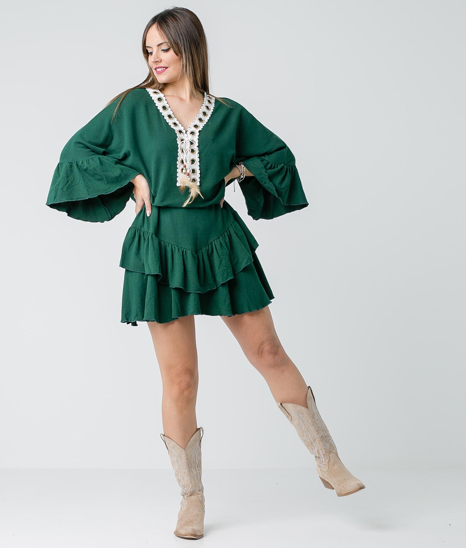 Dress Buren - Green
