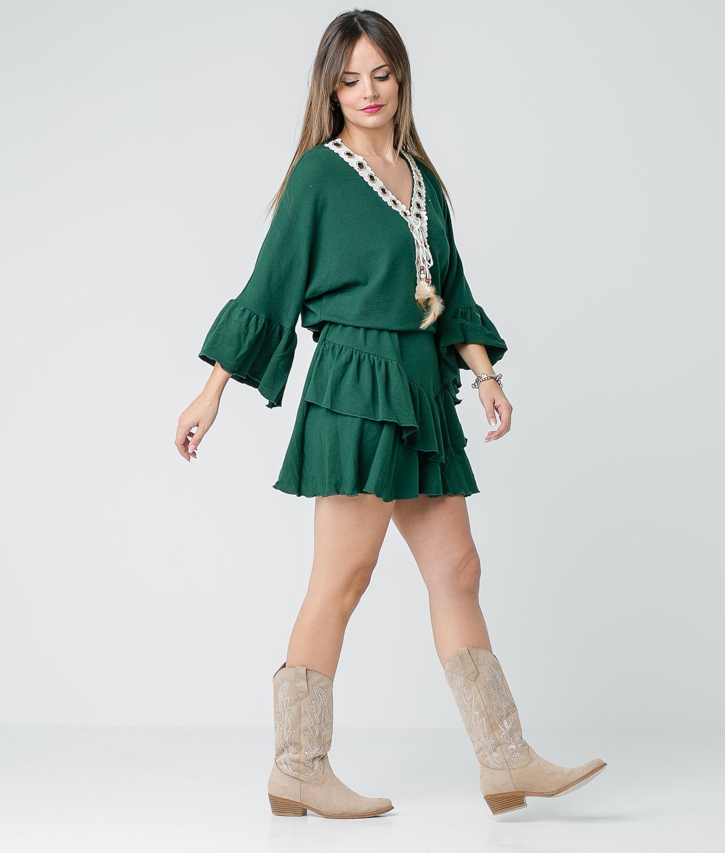 Vestido Buren - Verde