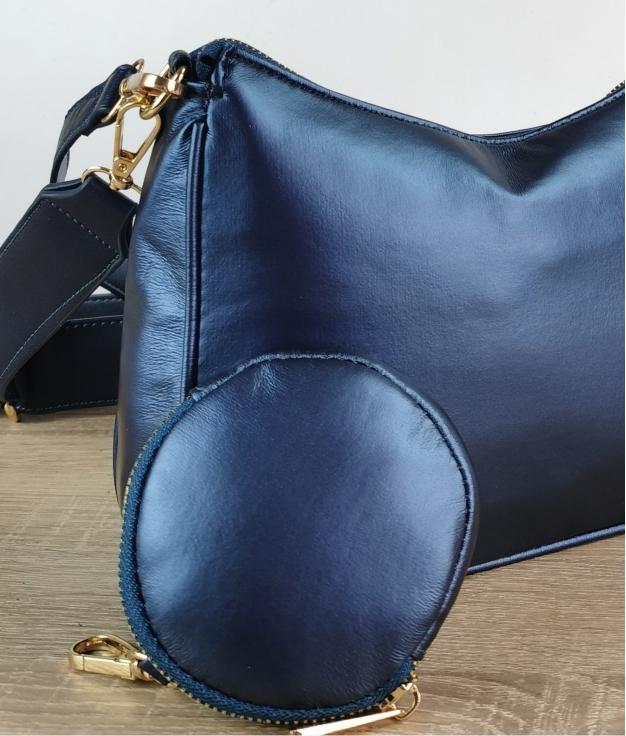Bandolera Niveral - azul