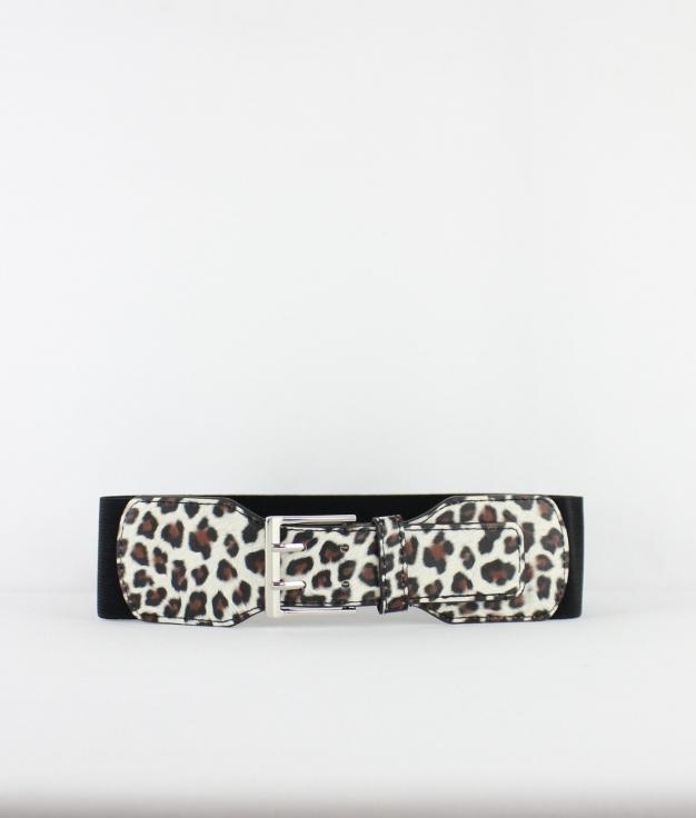 Cinturón Nia - Leopardo Beige