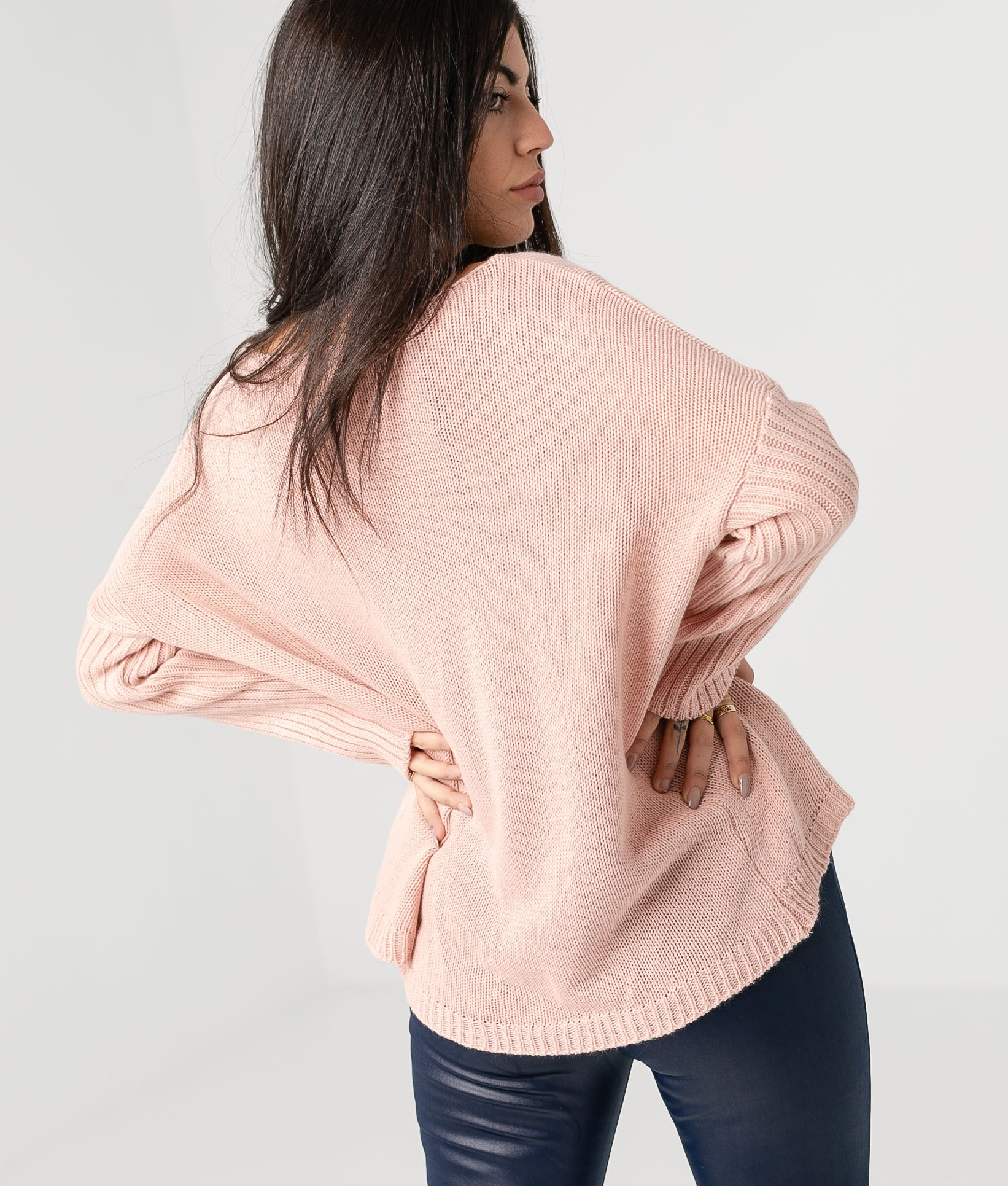 RIBIDO SWEATER - PINK