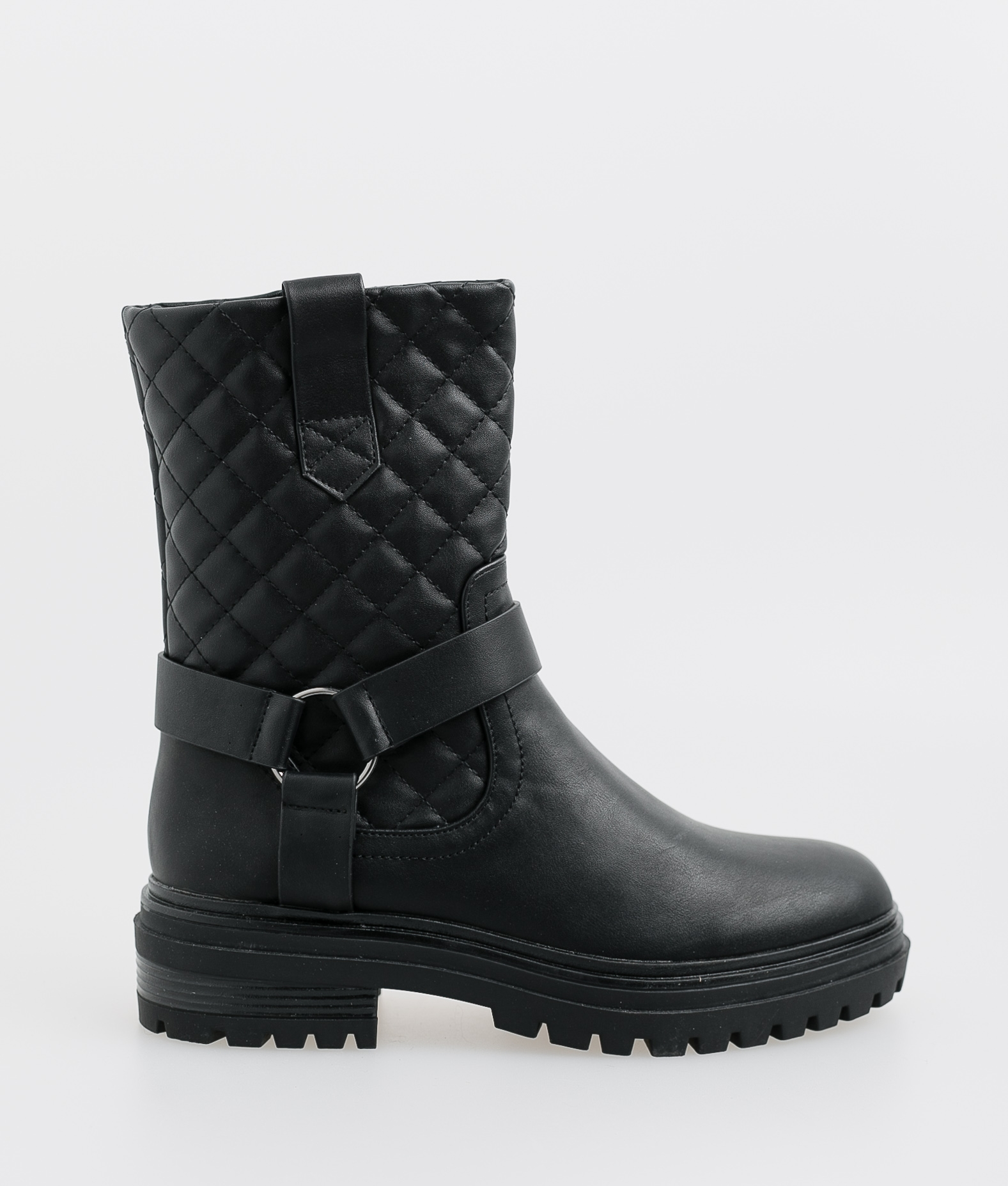 Roslin Low Boot - Black