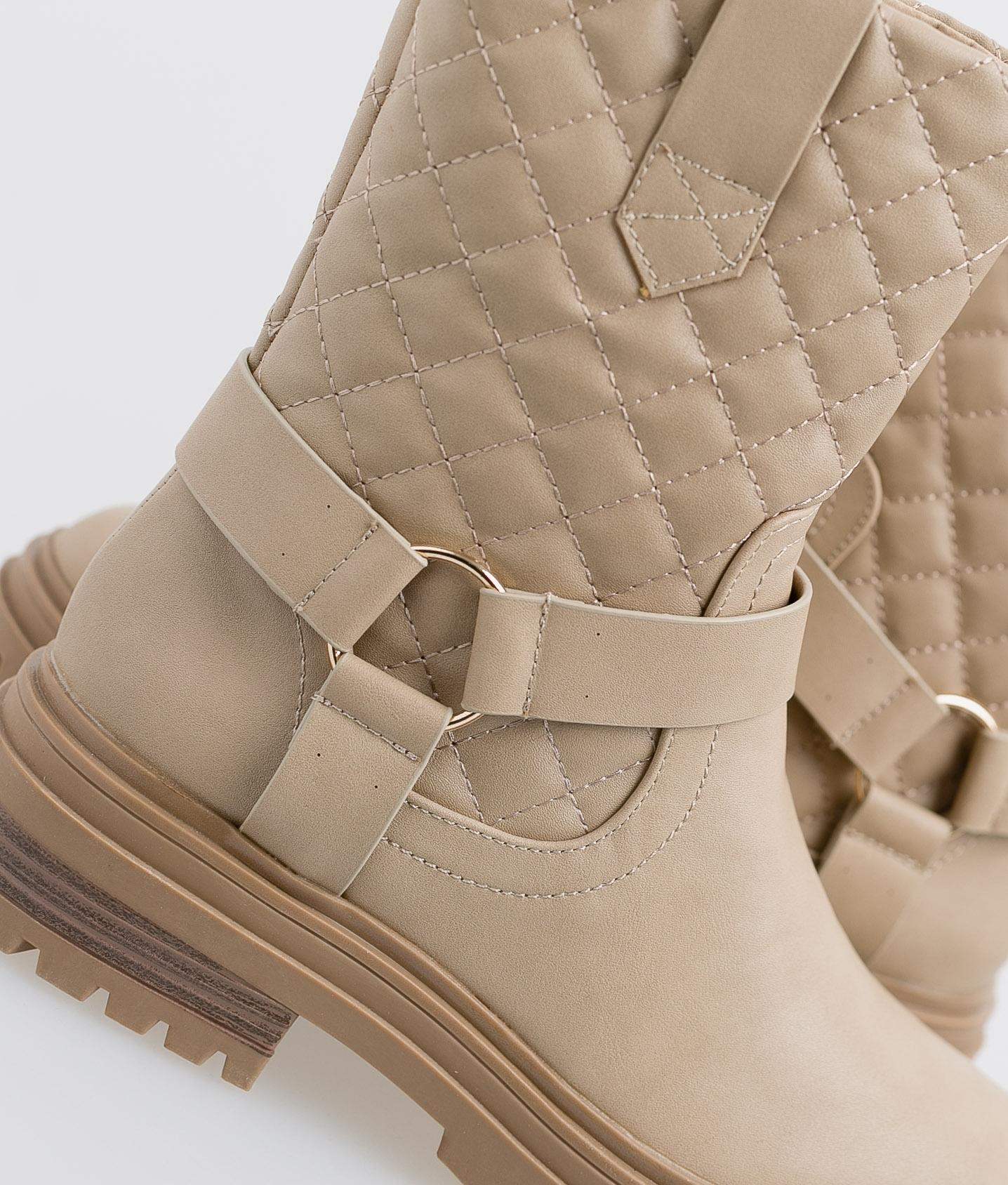 Roslin Low Boot - Beige