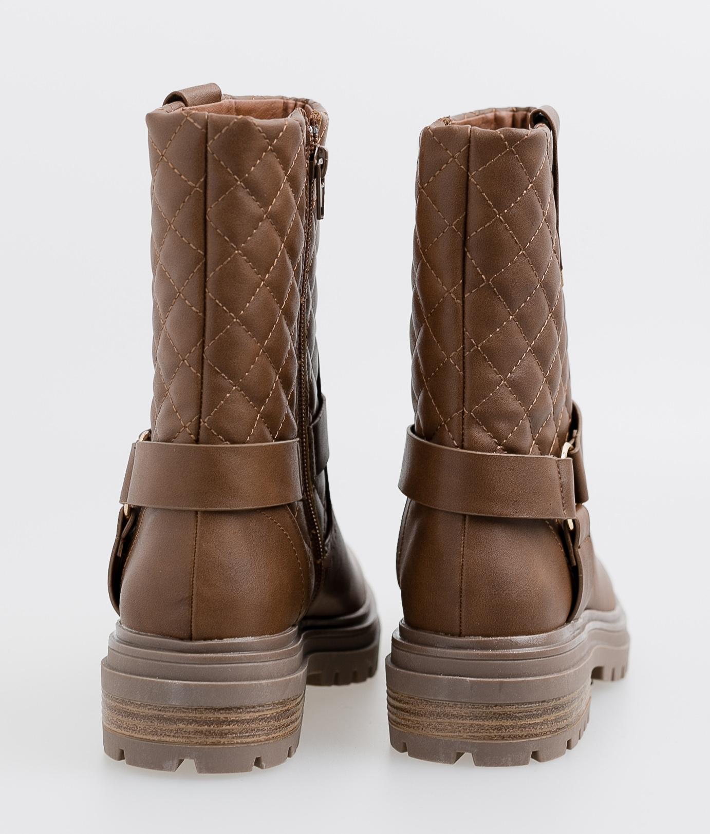 Roslin Low Boot - Camel