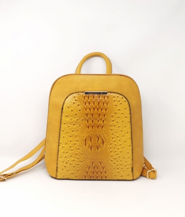 crumb backpack - mustard