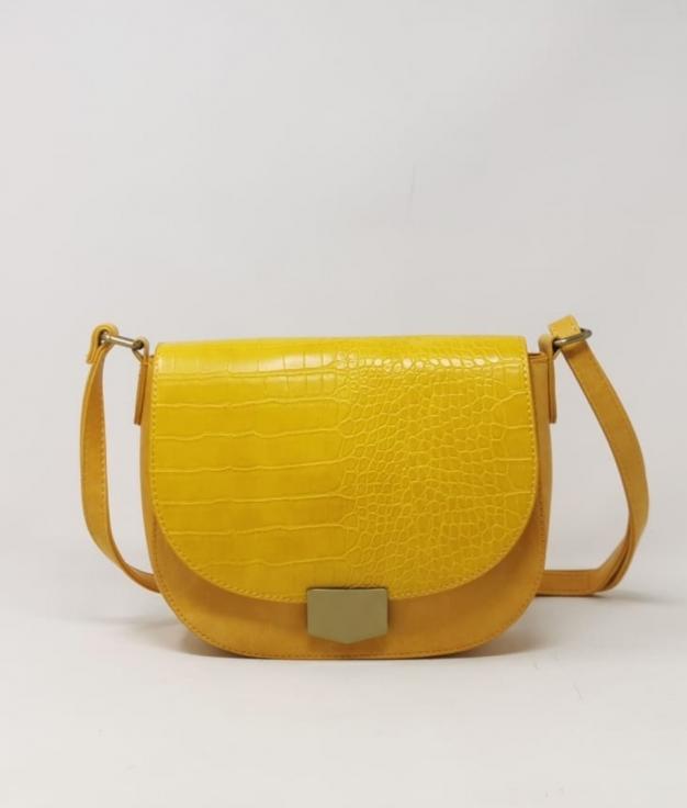 Bolsa de ombro Dalua - amarela
