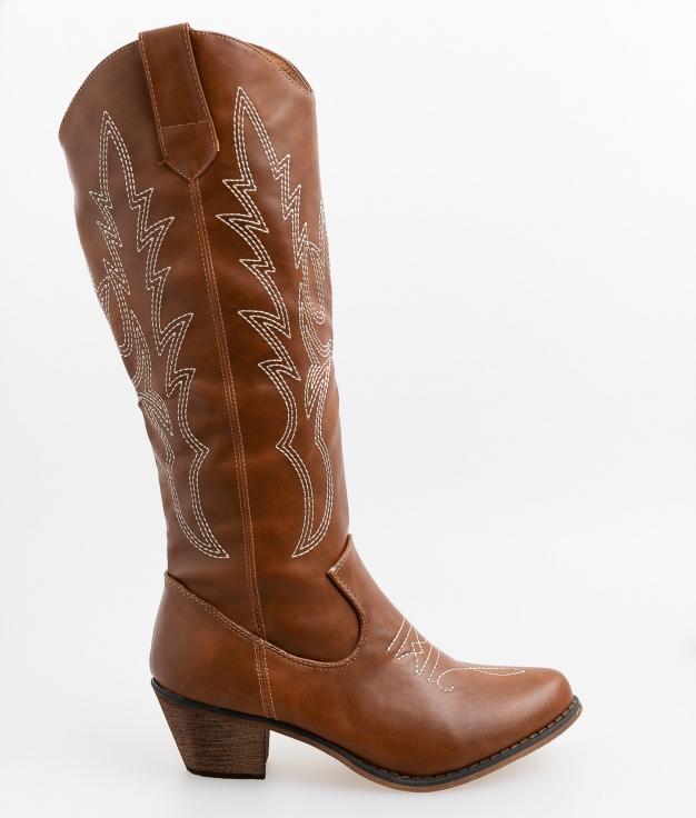 Dunton Knee-Length Boot - Camel