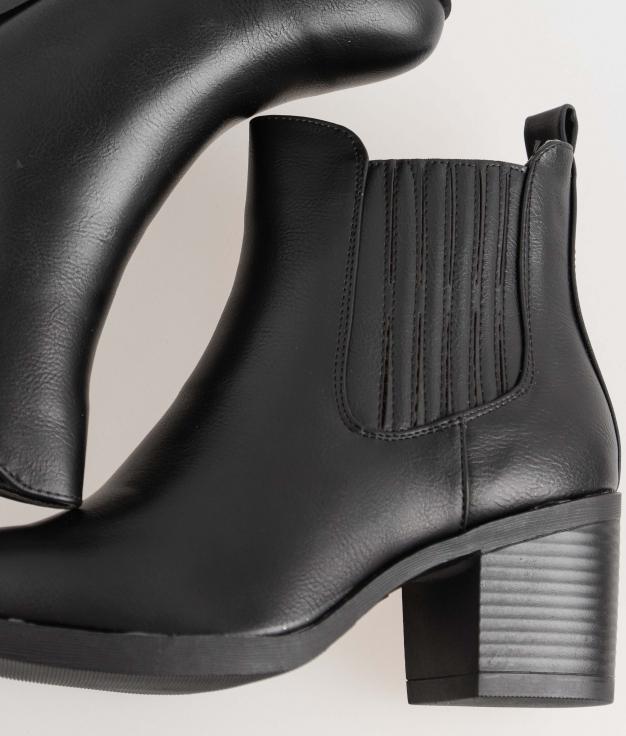 Low Boot Lavany - Black