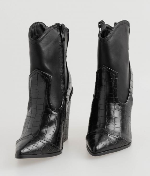 Low Boot Vilia - Black