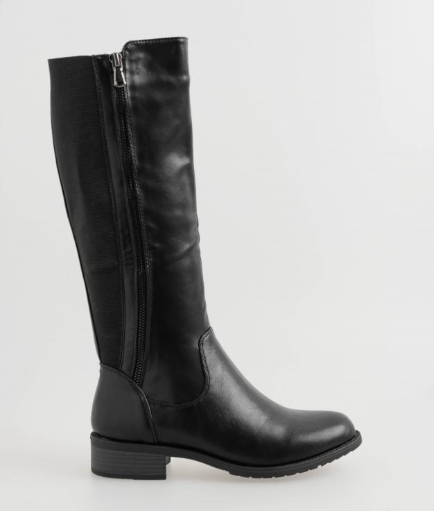 Knee-Lenght Boot Piana - Black