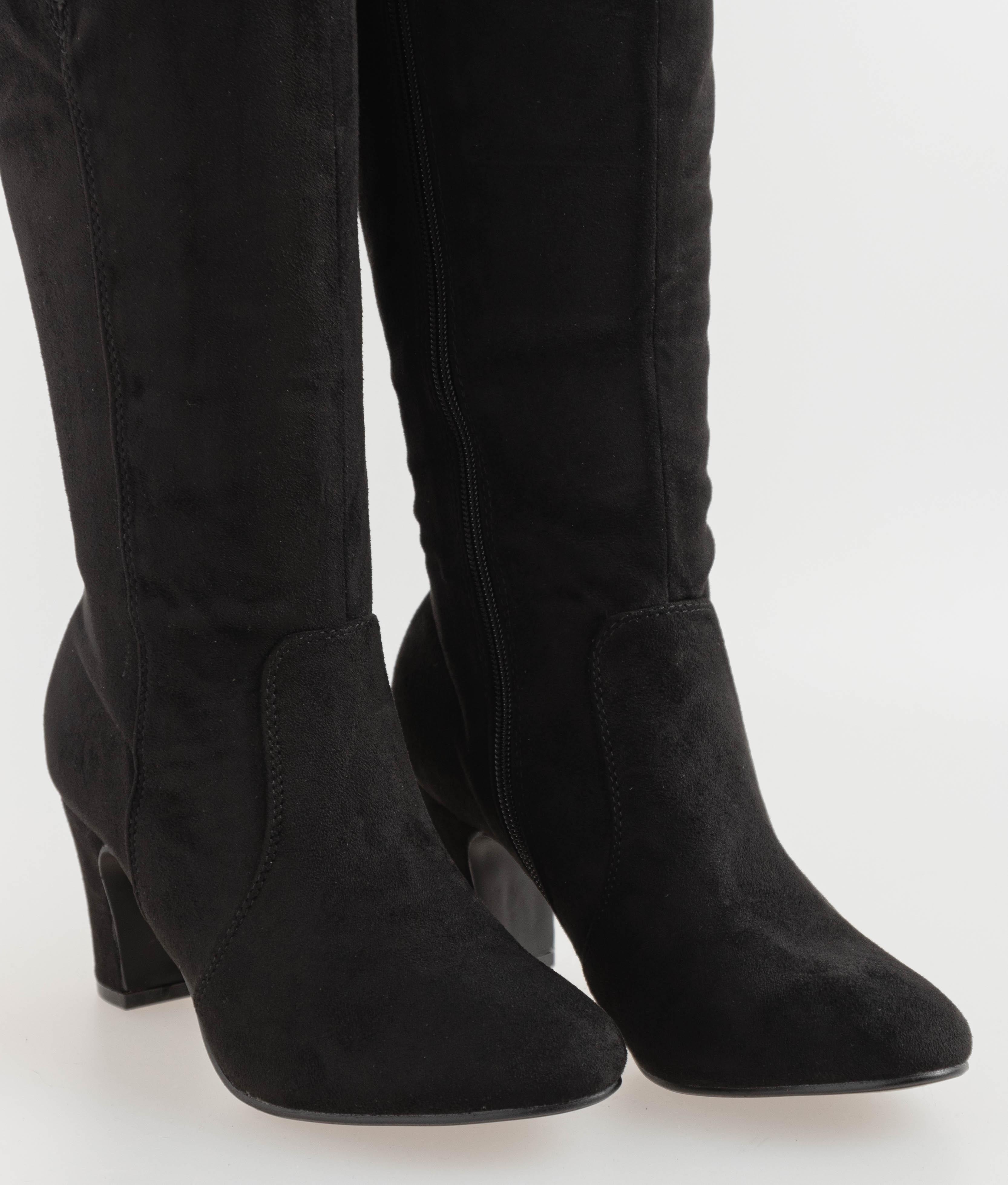Claria Knee-Length Boot - Black