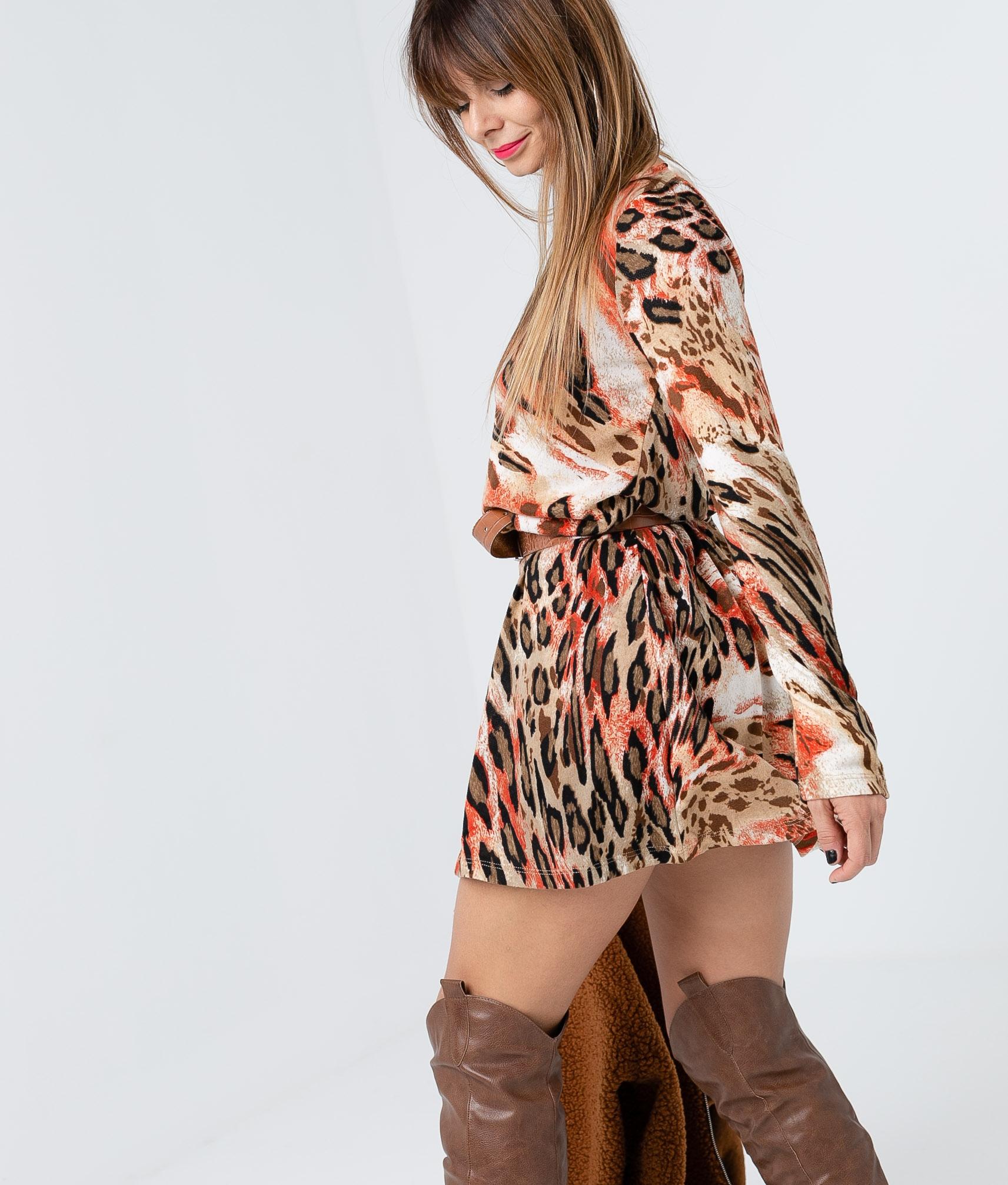 Vestido Yelia - Rojo