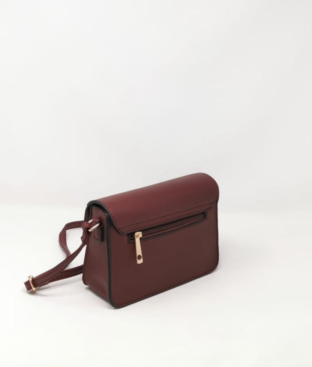 sac porté épaule salome - marron
