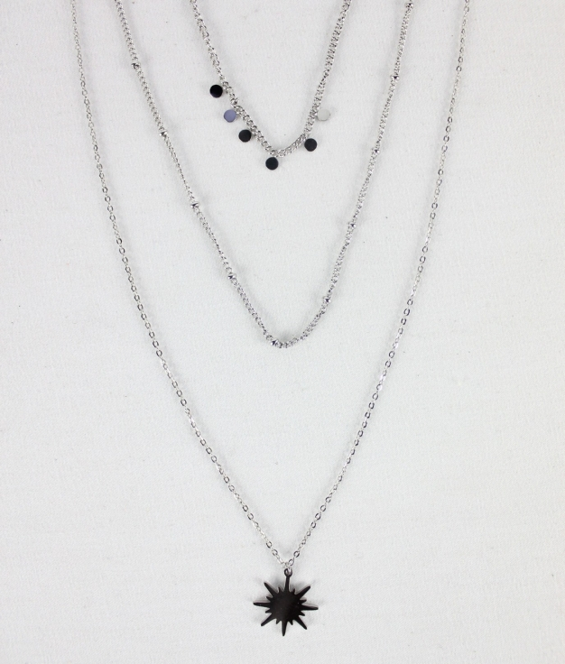 NECKLACE ANA - SILVER