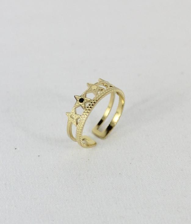 RING ESTRELLA - GOLDEN