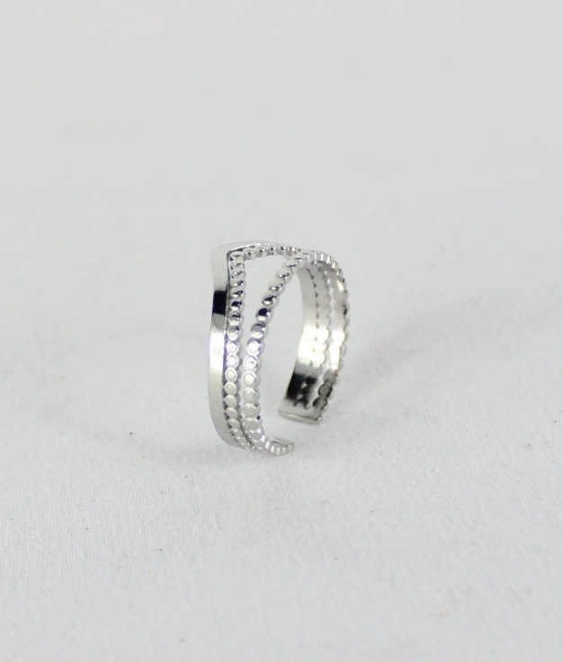 RING CROWN - SILVER